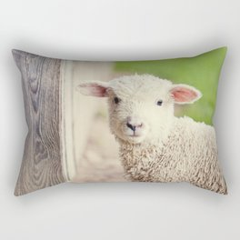Little Lamb I Rectangular Pillow