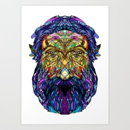 You're only given a little spark of madness Art Print