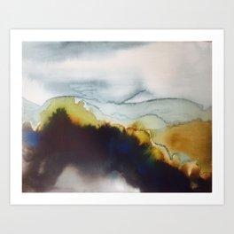 Mountain Musings Art Print