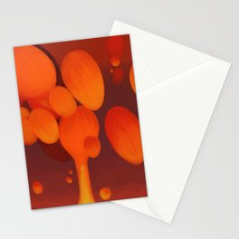 Lava Lamp Red Stationery Cards