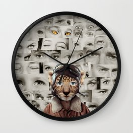 The Show Must Go On Wall Clock