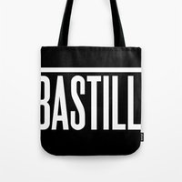 bastille Tote Bags featuring BASTILLE by AWMAX