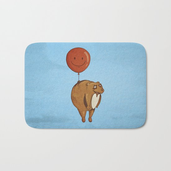 Float On, Bear, Float On Bath Mat