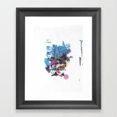 Cash Silk 002 Framed Art Print