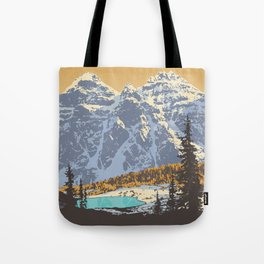 Banff National Park Tote Bag
