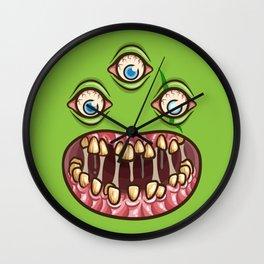 Bad Teef Wall Clock