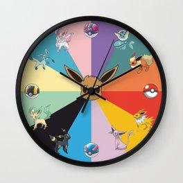 Eeveeolution Wall Clock