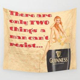 Guinness - Vintage Beer Wall Tapestry