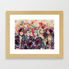 Rock Legend Framed Art Print