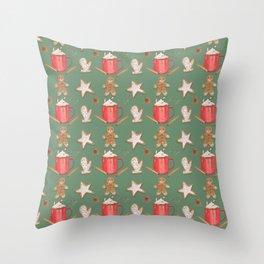 Holiday Treats Throw Pillow