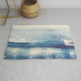 Abstract Seascape Rug