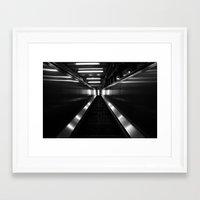 metallic Framed Art Prints featuring Metallic by Charlotte Bébin