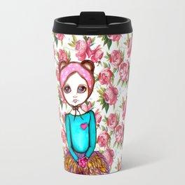 Bear Girl Travel Mug