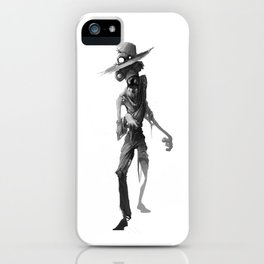 Zombie Farmer iPhone Case