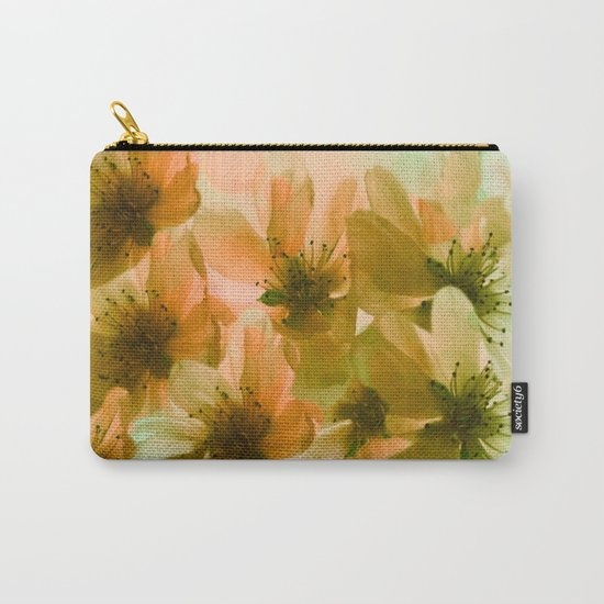 Orange Blossom Abstract Carry-All Pouch