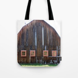 Rustic Old Country Barn Tote Bag