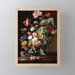"Rachel Ruysch ""Still-Life with Flowers"" Framed Mini Art Print"