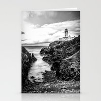 irish Stationery Cards featuring Irish Lighthouse by Conor