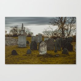 Old Burial Hill, Marblehead, MA Canvas Print