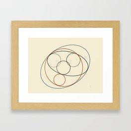 Honey Dove Framed Art Print