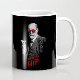 Hipster Psychologist Sigmund Freud Coffee Mug