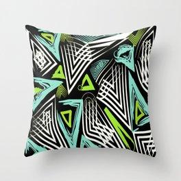 Tribal Zest Throw Pillow