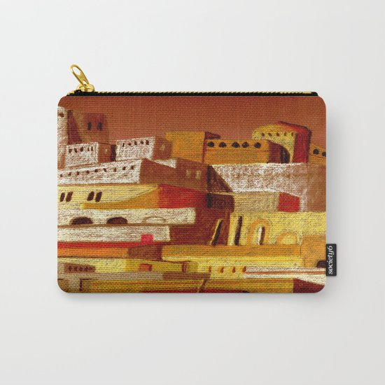 The fortress at sunset Carry-All Pouch
