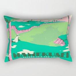 Visit Namekusei Rectangular Pillow