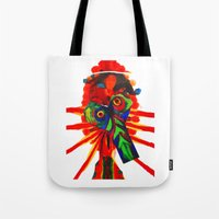 rare Tote Bags featuring rare-ju by FUNCIT