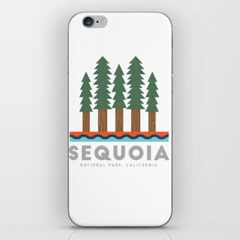 Sequoia National Park California Design for the outdoors lover! iPhone Skin