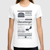 hamburger T-shirts featuring Hamburger  by 16floor
