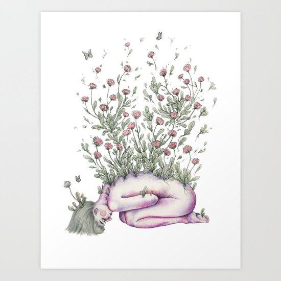 """""""From my rotting body, flowers shall grow, and I am in them, and that is eternity."""" Art Print"""