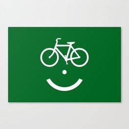 Bike Lane :) Canvas Print