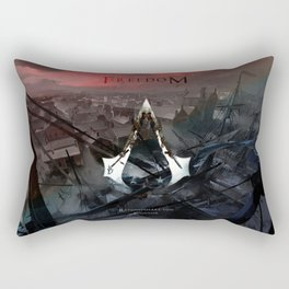 Assassin's Creed 3: Connor, Master Assassin of the American Revolutionary War Rectangular Pillow