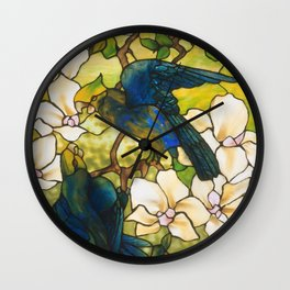 Louis Comfort Tiffany - Decorative stained glass 3. Wall Clock