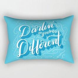 Darlin' You're Different Rectangular Pillow