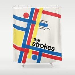 The Strokes Gov Ball Shower Curtain