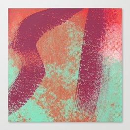 SCREENPRINT Canvas Print