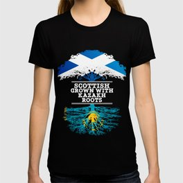 Scottish Grown With Kazakh Roots T-shirt