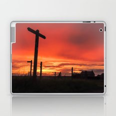 Signs for Sunset Laptop & iPad Skin