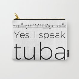 Tuba rests (white) Carry-All Pouch