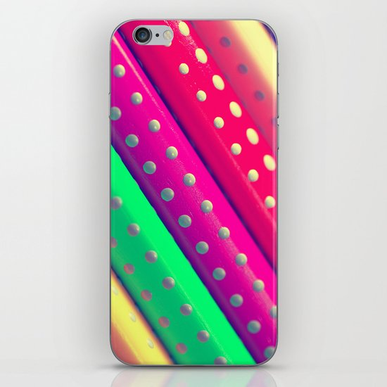 Rainbow Colors iPhone & iPod Skin