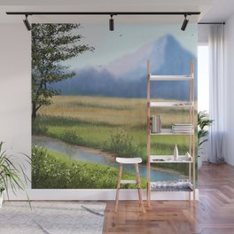 Foothills Wall Mural