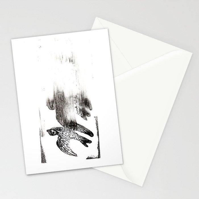 Soul Leaves the Body Stationery Cards