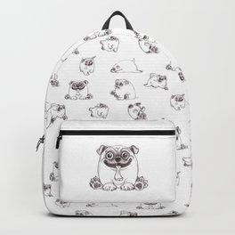 Mozart The Pug Backpack