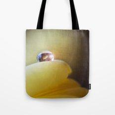 Yellow tear Tote Bag