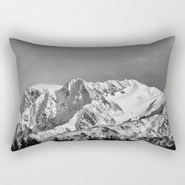 Mountain Glacier Two Rectangular Pillow