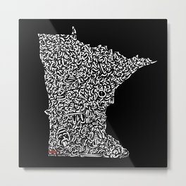 State Secrets - Minnesota Metal Print