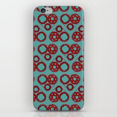 Bicycle Gear Heart close up iPhone & iPod Skin