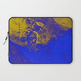 Toxic water paint art Laptop Sleeve